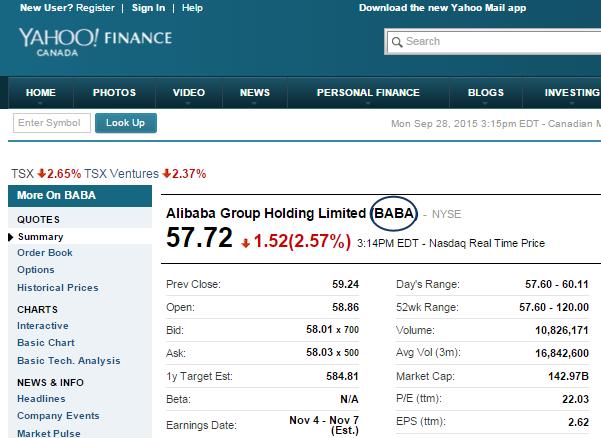 Klip Gallery: Yahoo Finance – Klipfolio Help Center
